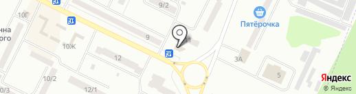 Каравай на карте Волжска
