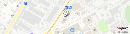 Нюся на карте Ульяновска