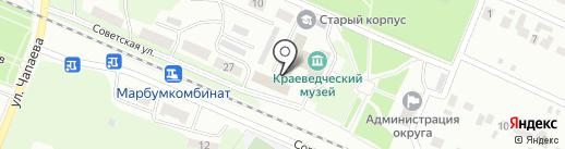 Архивный отдел Администрации г. Волжска на карте Волжска