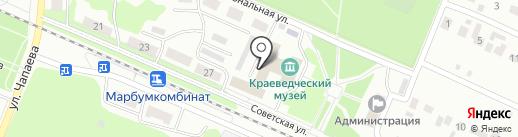 Йошкар-Олинский медицинский колледж на карте Волжска