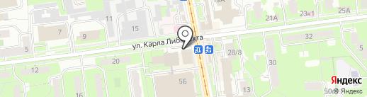 АвтоМама на карте Ульяновска