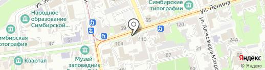 Капремонт73 на карте Ульяновска