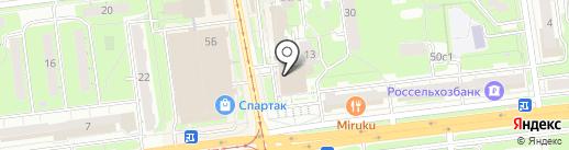 ЛДПР на карте Ульяновска