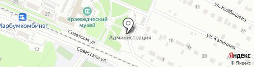 Собрание депутатов Администрации городского округа Волжск на карте Волжска
