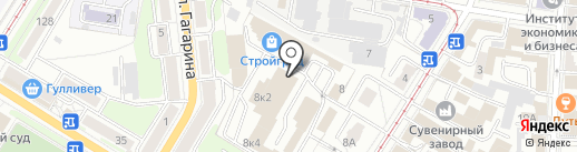 Домовенок на карте Ульяновска