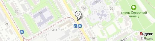 Инфо-Пресс на карте Ульяновска