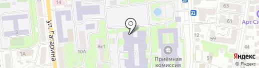 Ульяновский институт гражданской авиации им. Б.П. Бугаева на карте Ульяновска