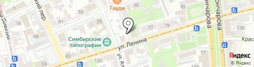 ТЕМП на карте Ульяновска