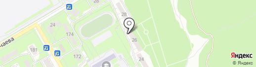 Радуга, ЖСК на карте Ульяновска