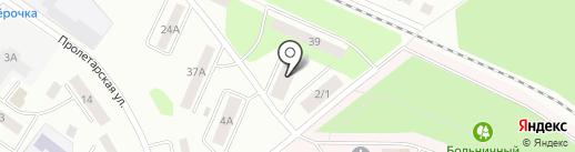 Волга-сервис на карте Волжска