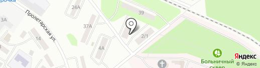 Домашний на карте Волжска
