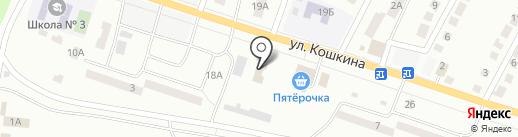 Библиотека №2 на карте Волжска