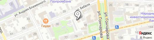 Адвокатский кабинет Каленова Г.В. на карте Ульяновска