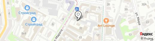ПОЗИТИВОПТ на карте Ульяновска
