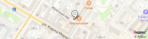 Альфаком-Север на карте Ульяновска