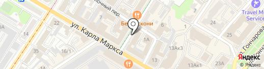 Пазлы на карте Ульяновска