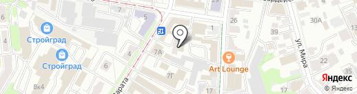 Stikernet на карте Ульяновска