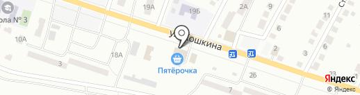 Пятерочка на карте Волжска