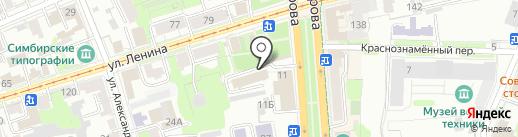 Ми-ми-мишки на карте Ульяновска