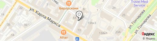 Адвокатская палата Ульяновской области на карте Ульяновска