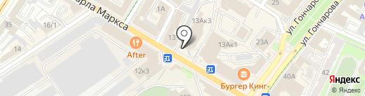 Грация на карте Ульяновска