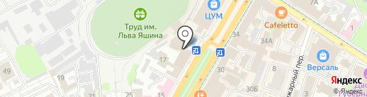 Эль-Торо на карте Ульяновска