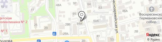 ЭКСПЕРТНО-ЮРИДИЧЕСКИЙ ЦЕНТР на карте Ульяновска