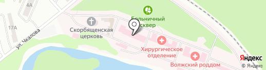 Станция скорой медицинской помощи на карте Волжска