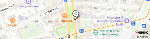 Формула Образования на карте Ульяновска