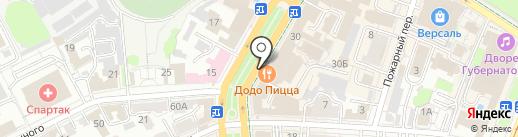 Модники SuperHand на карте Ульяновска