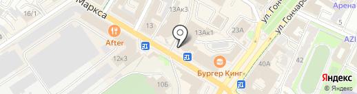 Жук на карте Ульяновска