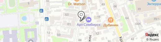 Маркет Красоты на карте Ульяновска