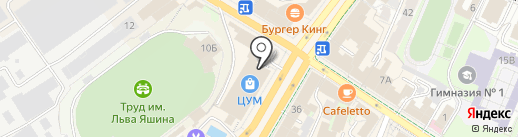 Mergen на карте Ульяновска