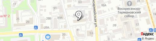 Главное управление Министерства здравоохранения, семьи и социального благополучия Ульяновской области по г. Ульяновску на карте Ульяновска