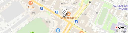Fix Price на карте Ульяновска