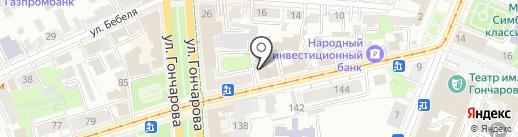 Ульяновская областная татарская национально-культурная автономия на карте Ульяновска