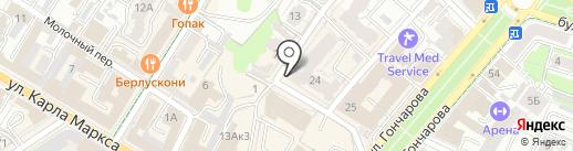 ВТБ Лизинг на карте Ульяновска