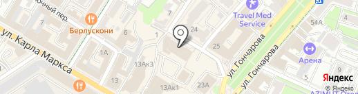 Отдых The Best на карте Ульяновска