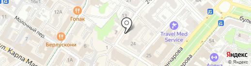 Работа - это проСТО на карте Ульяновска