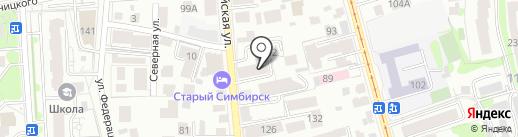 Доктор Канц на карте Ульяновска