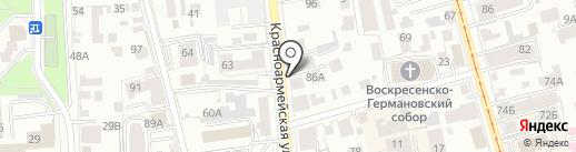 Адвокатский кабинет Макарова В.В. на карте Ульяновска