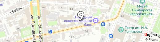 Шпана на карте Ульяновска