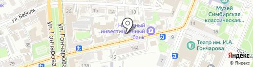 Ямато на карте Ульяновска