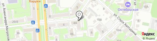 Магазин товаров для сада и огорода на карте Ульяновска