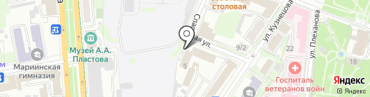Ризон на карте Ульяновска