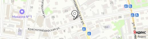 КПРФ на карте Ульяновска