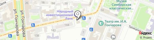 Единая Россия на карте Ульяновска
