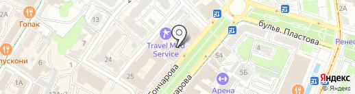 Визовый центр Италии на карте Ульяновска