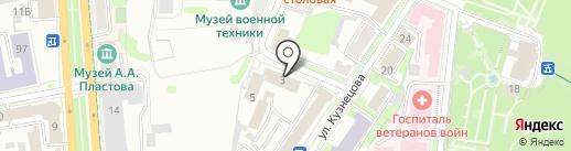 Фонд модернизации жилищно-коммунального комплекса Ульяновской области на карте Ульяновска