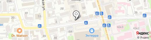 СоНата Club на карте Ульяновска